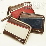 mobac(モバック) スタイリッシュなツートンカラーの多機能小銭入れ