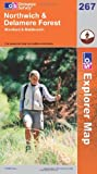 Northwich and Delamere Forest (Explorer Maps) (OS Explorer Map)