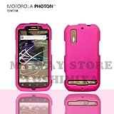 MOTOROLA PHOTONハードケース (au by KDDI ISW11M)【Pink(ピンク)】