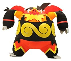 Pokemon Best Wishes Black And White Banpresto Dx Plush 47340 9 Enbuoh/Emboar