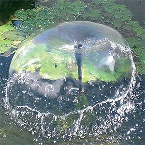 Beckmann sxu set pompa per laghetto 10 w alimentata ad for Filtro per laghetto ad energia solare