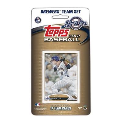 MLB Milwaukee Brewers 2012 Topps Team Set