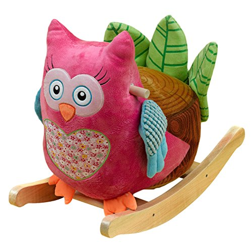 Rockabye Owlivia Owl Rocker (other animals available)