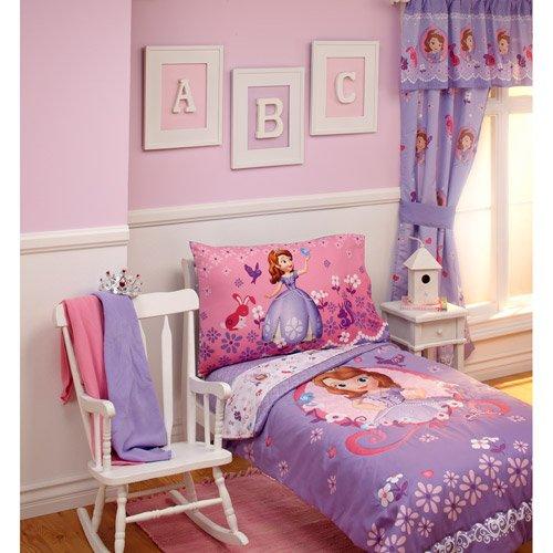 Disney Sofia Tiara Time 4-piece Toddler Bedding Set