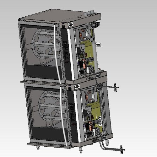 Commercial Rotisserie Oven front-637059