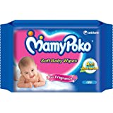 Mamy Poko Soft Baby Wipes With Fragrance (50Sheets)