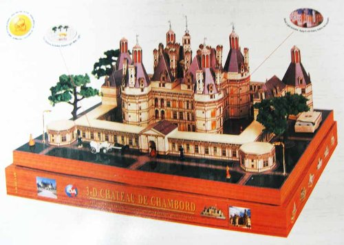 Buy Low Price IDA 3-D Chateau De Chambord Diorama 3D Puzzle Play Set (B002ZQNYPA)