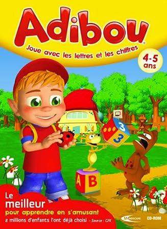 Adibou joue avec les lettres et les chiffres 4-5 ans 2010/2011
