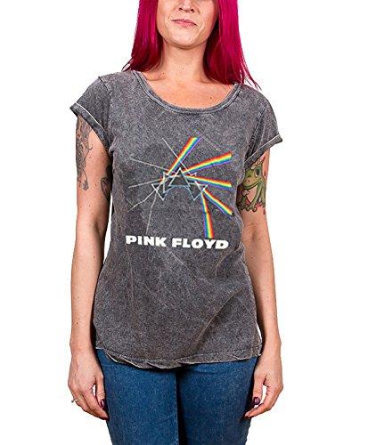 Pink Floyd -  T-shirt - Maniche corte  - Donna grigio Large