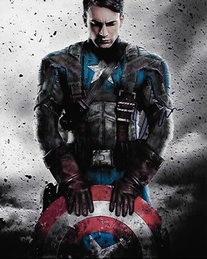 Chris Evans Captain America Photo