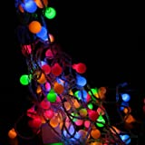 Innoo Tech**100 Muti-Color Ball LED Color Changing with 33 Feet Linkable String Christmas Xmas Lights Picture