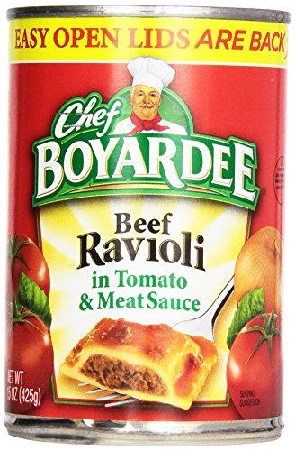 Chef Boyardee Ravioli In Tomato & Meat Sauce, 15 oz (1 Can Tomato Soup compare prices)
