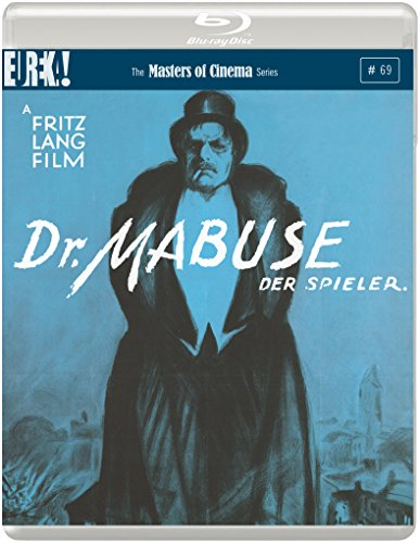 Dr. Mabuse, der Spieler. [Dr. Mabuse, the Gambler.] [Masters of Cinema] (Limited Edition Steelbook) [Blu-Ray] [Reino Unido]