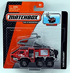 Matchbox On A Mission Real Working Rigs - Fire Stalker