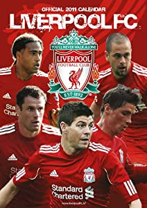 Official Liverpool Fc 2011 Calendar by Danilo Promotions Limited