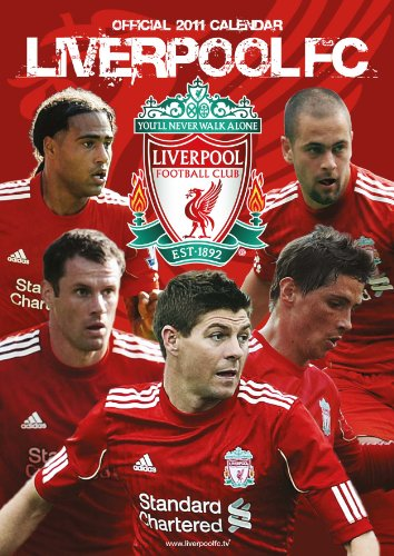 Official Liverpool FC 2011 Calendar
