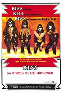 KISS Meets the Phantom of the Park Movie Poster (27 x 40 Inches - 69cm x 102cm) (1978) Spanish -(KISS)((Gene Simmons)(Ace Frehley)(Paul Stanley)(Peter Criss))(Anthony Zerbe)