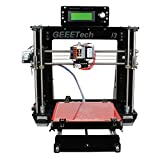 Geeetech Prusa Reprap Acrylic I3 DIY LCD filament 3D Printer + 1KG free ABS/PLA filament by easyshopping15 [並行輸入品]