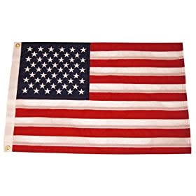 """Taylor Made Products US 50 Star Sewn Boat Flag (12"""" x 18"""")"""