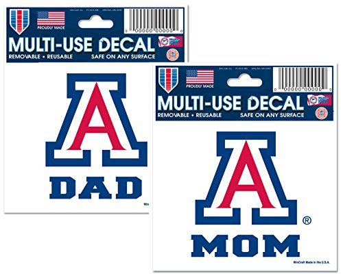 University of Arizona Mom and Dad Parent Fan Pack 3