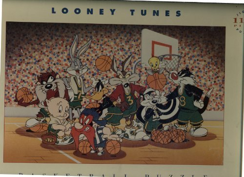 Looney Tunes 1100 Piece Puzzle - Basketball - Dated 1993 by Warner Bros.