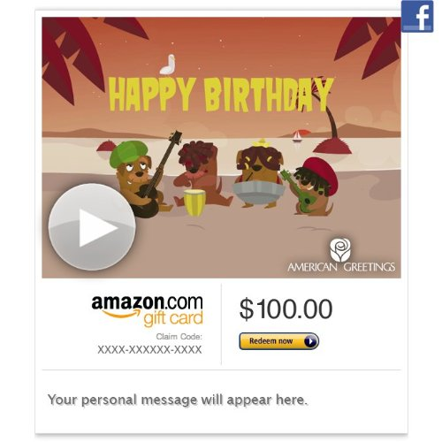 Birthday Gift Cards Best Sellers Amazon Gift Card Facebook