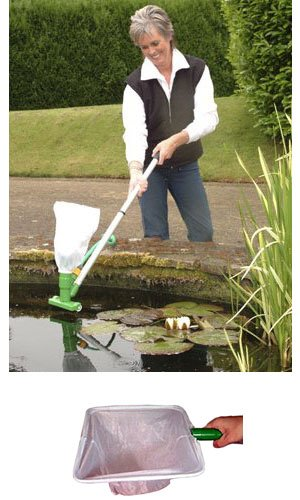 Good Ideas Pondvac Pond Cleaner Pack with Net Attachment (487)