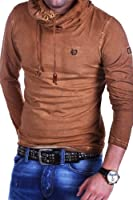 Tazzio Longsleeve High Neck Vintage T-Shirt 4100