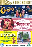 Clangers - Series 1/ Bagpuss - Complete / Ivor The Engine - Complete [DVD]