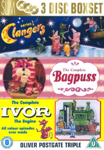 Clangers/Bagpuss/Ivor the Engine. Nostalgic Oliver Postgate DVD set