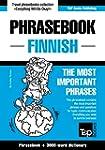 English-Finnish phrasebook and 3000-w...