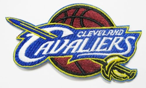 "CLEVELAND CAVALIERS Team Logo 3.5"" Embroidered Patch"