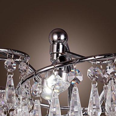 6 - la lumiššre en acier inoxydable a conduit appliques murales avec des gouttes de cristal