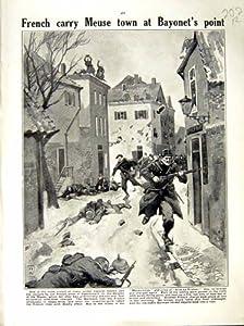 1914-15 WORLD WAR PAUL POIRET PARIS ELYSEE SOLDIERS