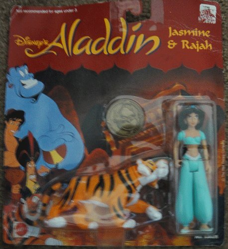 Buy Low Price Mattel Disney Aladdin Figure Jasmine and Rajah (B005CBRKUU)