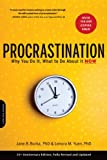 img - for Procrastination: Why You Do It, What to Do About It Now book / textbook / text book