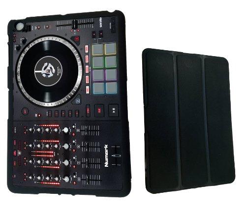 Funky Dj Mixer Music Clubbing Design Apple Ipad 2 3 & 4 Full Case Flip Cover-Black (Mixer 2 Chanel compare prices)