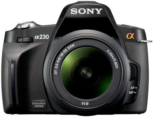 Sony Alpha A230L Digital SLR Camera With 18-55 mm Lens