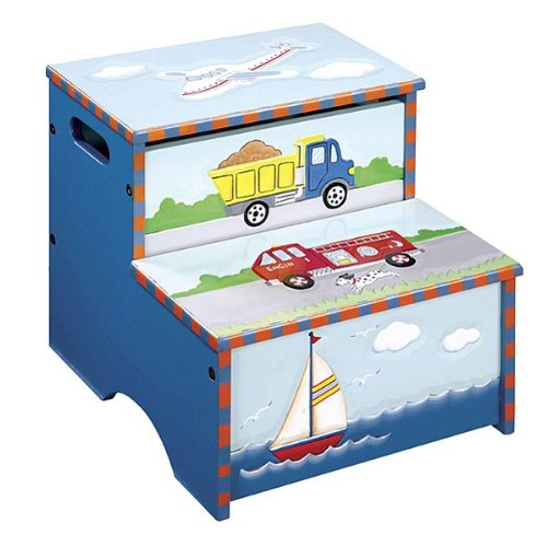 GuideCraft Transportation Collection Storage Step - Up