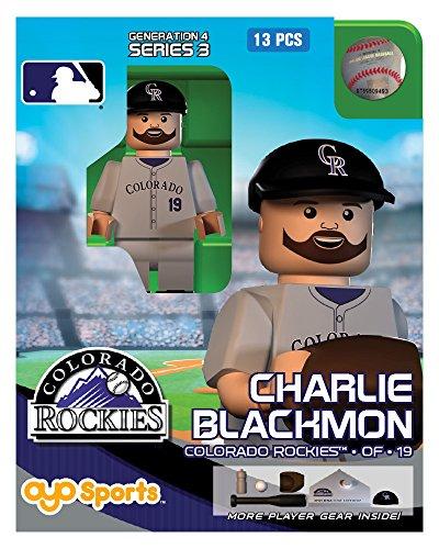 Charlie Blackmon MLB Colorado Rockies Oyo G4S3 Minifigure