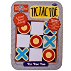 Magnetic Tic Tac Toe Travel Game Tin