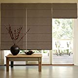 Presto Bazaar Brown Jacquard Window Blind (60 Inch X 44 Inch)