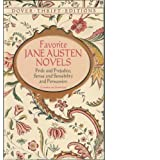 "Favorite Jane Austen Novels: Pride and Prejudice, Sense and Sensibility and Persuasion (Complete and Unabridged) (Dover Thrift Editions)von ""Jane Austen"""