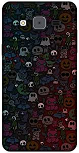 The Racoon Lean printed designer hard back mobile phone case cover for Samsung Galaxy On7. (Halloween)