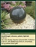 1 Stück Granit-Kugel