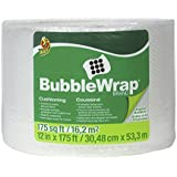 Duck Brand Bubble Wrap Original Cushioning, 12 Inches Wide x 175 Feet Long, Single Roll (1053440)