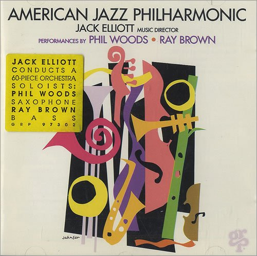 American Jazz Philharmonic by Jack Elliot, American Jazz Philharmonic, Phil Woods and Ray Brown