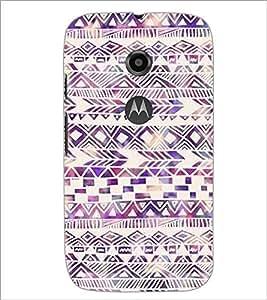 PrintDhaba Pattern D-2188 Back Case Cover for MOTOROLA MOTO E2 (Multi-Coloured)
