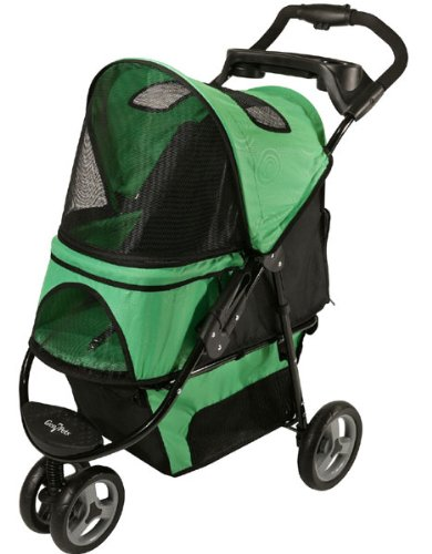 Gen7Pets Promenade Pet Stroller, Spring Green front-266504