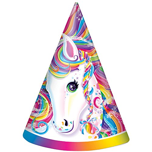 Rainbow Majesty by Lisa Frank Party Hats, 8ct